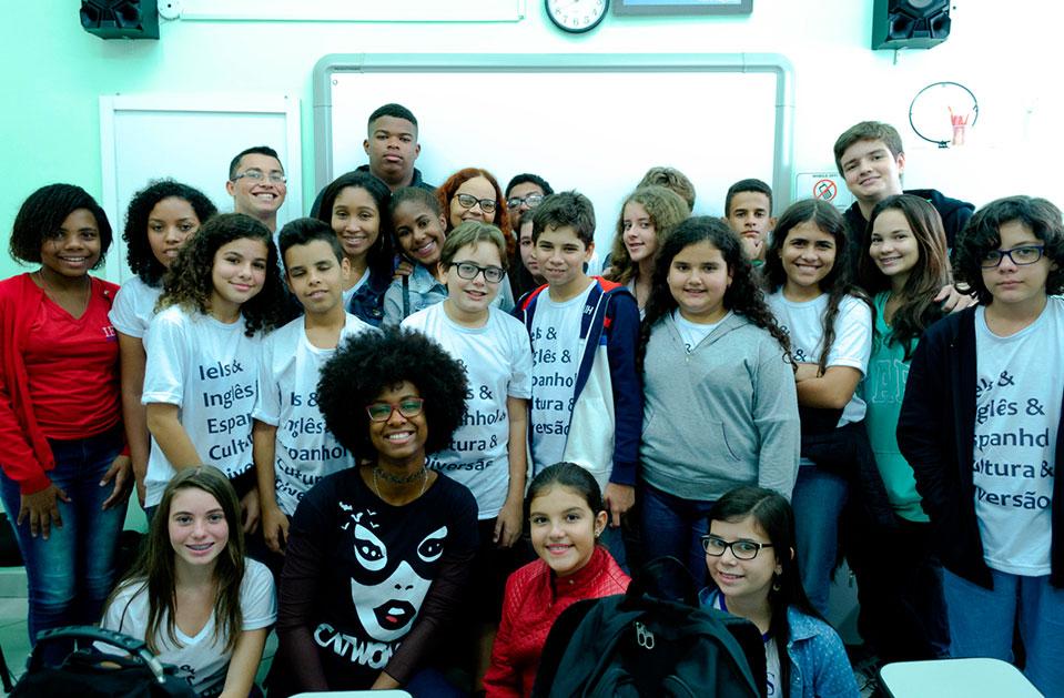 Escola De Inglês De Além Paraíba (MG) Visita A Cultura Inglesa Juiz De Fora